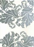 Reflections Shine Silver Wallpaper 1910/909 By Prestigious Textiles